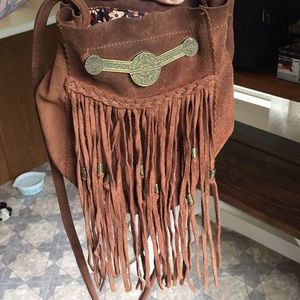 Free people crossbody leather